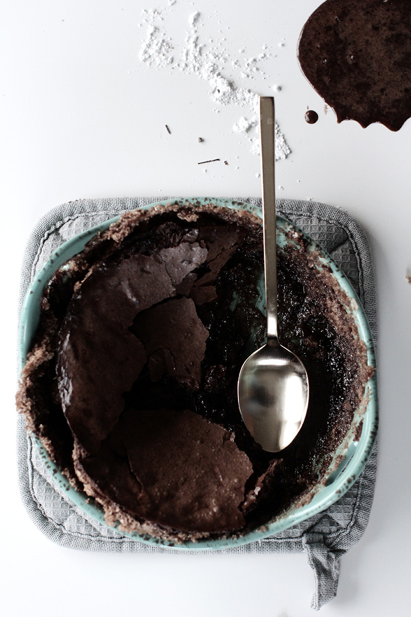 Flourless Fudge Brownie